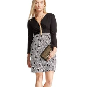 DVF Silk Gianna Geometric Dress, *KILLER DEAL* 8